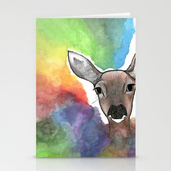 Deer Dream Stationery Card