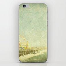 Santa Monica Ferris Wheel iPhone & iPod Skin