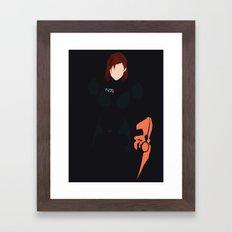 Mass Effect - Female Shepard Framed Art Print