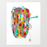 Capricious Art Print