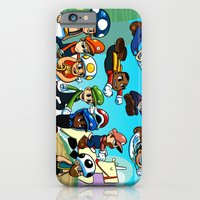 iPhone & iPod Case featuring Super Mongoose Bros. by Team Mongoose