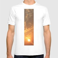 Sun in a corner Mens Fitted Tee White SMALL