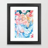 Alice in Boyland-Alice Framed Art Print