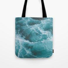 Electric Ocean Tote Bag