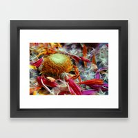 Flower Deconstruction 1 Framed Art Print