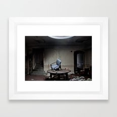 Party's Over Framed Art Print