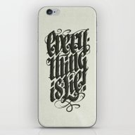 iPhone & iPod Skin featuring Everything... by Dr. Lukas Brezak