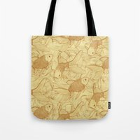 Vintage Goldfishes II Tote Bag