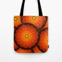 Velvet Sunflowers Motif … Tote Bag