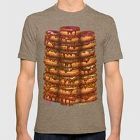 Donuts III 'sparkles&chocolate' Mens Fitted Tee Tri-Coffee SMALL