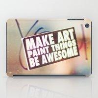 Hello Art iPad Case