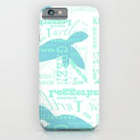 Abstract Sea Turtle iPhone 6 Slim Case