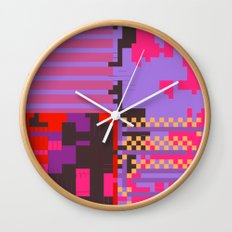 taintedcanvas54 Wall Clock
