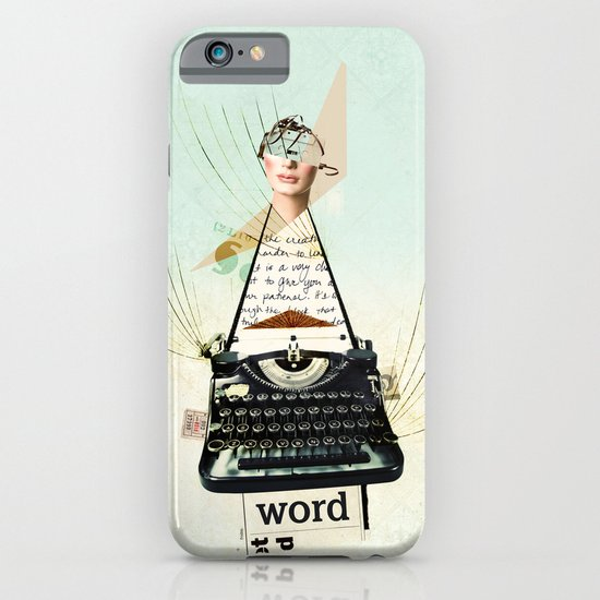 Word iPhone & iPod Case