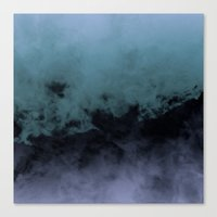Zero Visibility Cut Canvas Print