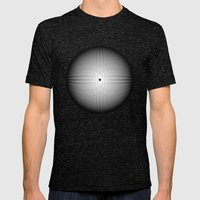 Fractal Snowball Mens Fitted Tee Tri-Black SMALL
