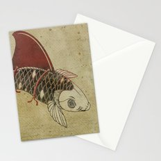Koi Shark Fin 02 Stationery Cards