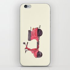 Vespa - ballpoint pen iPhone & iPod Skin