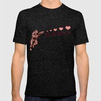 Heart Attack - Master Ch… Mens Fitted Tee Tri-Black SMALL
