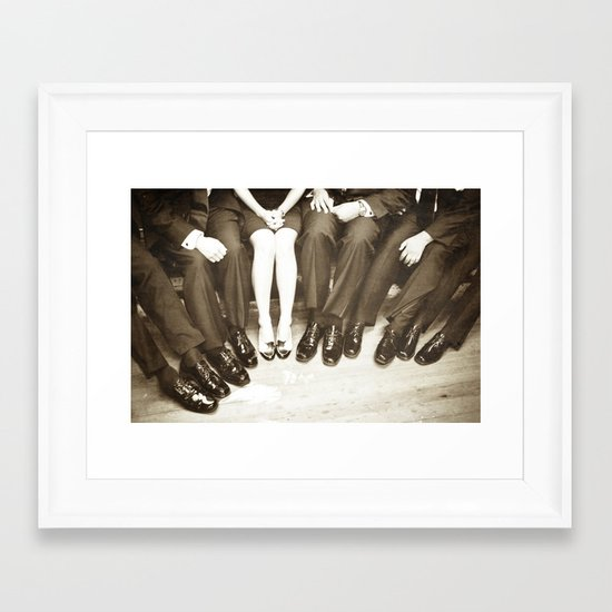 The Groomswoman Framed Art Print