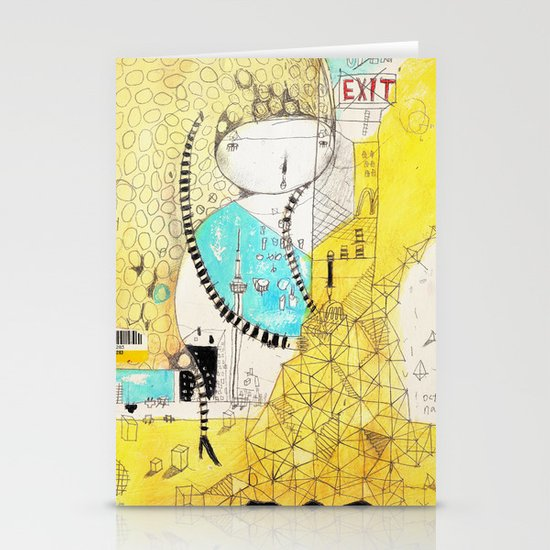 Making downtown  Stationery Card