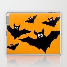 Cool cute Black Flying bats Halloween  Laptop & iPad Skin