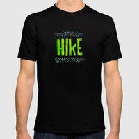 Hike Mens Fitted Tee Black SMALL