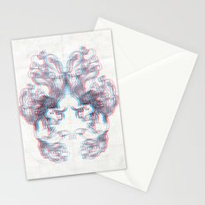 3D Fox Stationery Cards