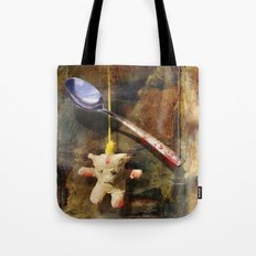 The Care and Feeding of Teddy Tote Bag