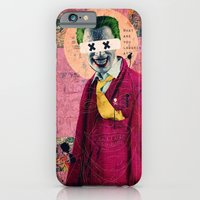iPhone & iPod Case featuring What Are You Laughin' At? by Alec Goss