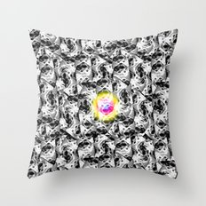 M. CMYKat. Escher Throw Pillow