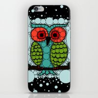 Curiosity Never Killed an Owl iPhone & iPod Skin
