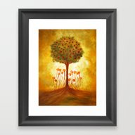 Framed Art Print featuring Positive Energy From The… by Viviana Gonzalez