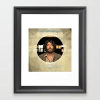 Album Cover Ray LaMontag… Framed Art Print
