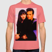 90210 Mens Fitted Tee Pomegranate SMALL
