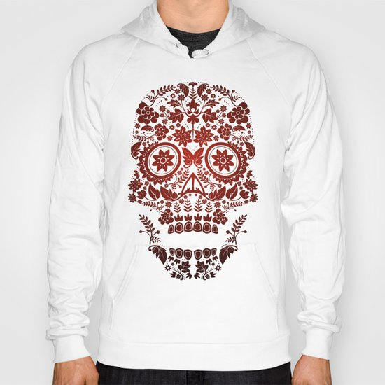 Day of the Dead Skull No.20 Hoody