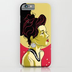 Vintage Girl Slim Case iPhone 6s