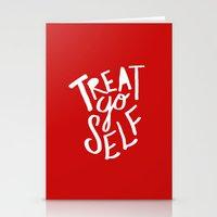 Treat Yo Self: Holiday E… Stationery Cards