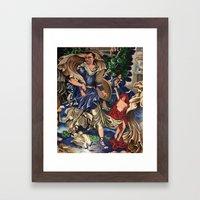 Blue Fairy, Sam Fan Art Framed Art Print