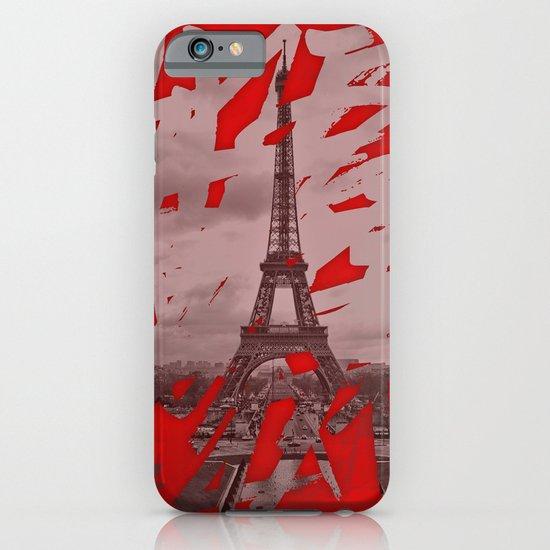 Je romps les habitudes à Paris. iPhone & iPod Case