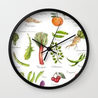 Calendar-January Thru Ju… Wall Clock