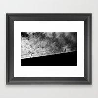 Espejismo Liberal Framed Art Print