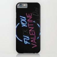 FU**YOU VALENTINE'S DAY iPhone 6 Slim Case