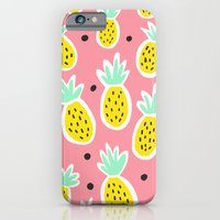 iPhone & iPod Case featuring Pineapple Party by Ello Lovey