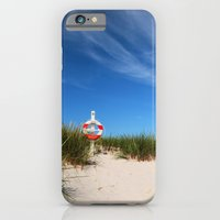 iPhone Cases featuring Dunes at the beach by UtArt