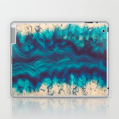 Blue Agate River of Earth Laptop & iPad Skin