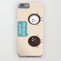 iPhone Cases featuring Better Half by Teo Zirinis
