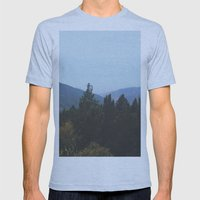 Mountain View Mens Fitted Tee Athletic Blue SMALL