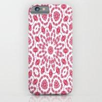 Ruby Mandala Tile 2 iPhone 6 Slim Case