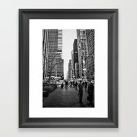 Strictly Business. Framed Art Print